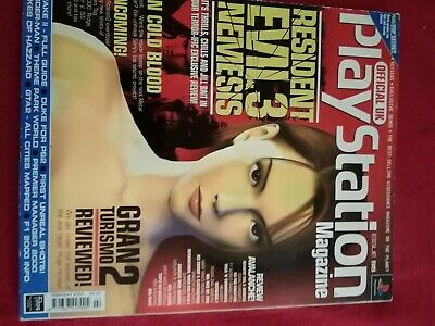 Official UK playstation magazine. Issue 55 Feb 2000 with demo disc.used but good