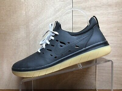 2126c370425 Nike SB Nyjah Free Men New Black Lifestyle Skateboard Shoes US 10 AA4272-002