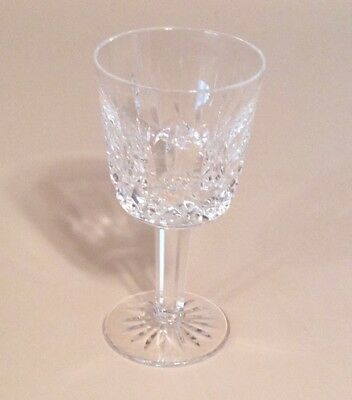 "Signed WATERFORD ""Lismore"" Cut Crystal Port Wine Glass - 4 1/4"" Tall"