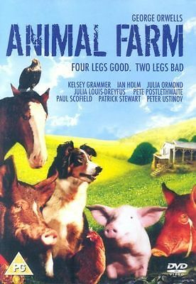 Animal Farm (2008, DVD)  Peter Ustinov, Patrick Stewart - NEW & SEALED  E1