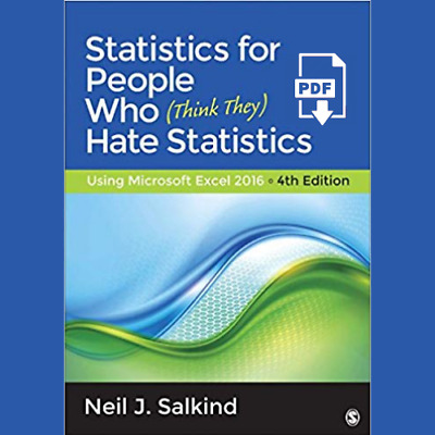 PDF Statistics for People Who (Think They) Hate Statistics Using Microsoft Excel