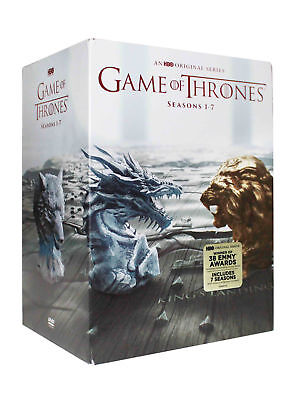 Game Of Thrones: The Complete Season 1-7 Box Set Brand New Dvd,34 Disc Set