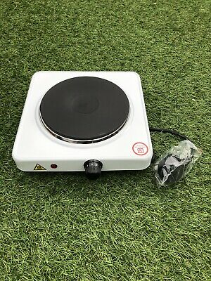 Portable Single Electric Hot Plate Hob 1000w Cooker Table Top Hotplate Mobile