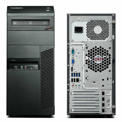 Tour PC Ordinateur bureau Lenovo ThinkCentre M78 AMD 3,4Ghz/4GB/1TB/W10p/WIFI