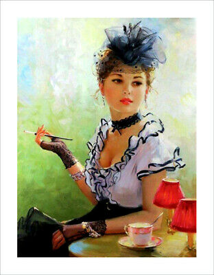 Oil Painting HD Print Oil Painting Modern Art Canvas A16