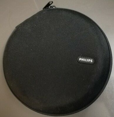 Philips Noise Cancelling Over Ear Headphones Case Replacement Black Soft Shell