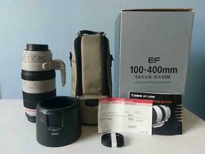 Canon EF 100-400mm f/4.5-5.6L IS II USM Lens FREE Shipping