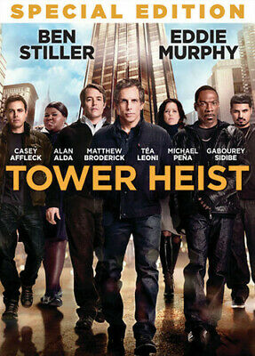 Tower Heist (DVD, 2012) disc only