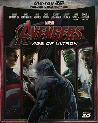 |1154635| Movie - Avengers - Age of Ultron?  [Blu-Ray x 2] Sigillato