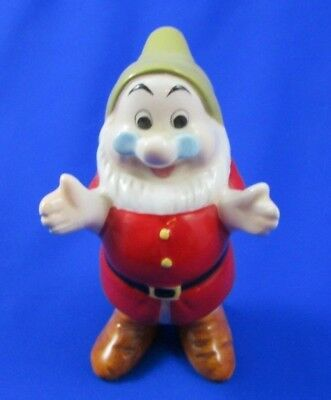 Disney China Snow White and the Seven Dwarfs Doc Figurine RARE HARD TO FIND