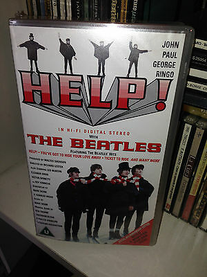 Vhs THE BEATLES Help Special 30th Anniversary Edition 1995 SIGILLATA/SEALED