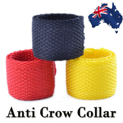 2PCS Anti Crow Collar for Roosters Cockerel No Crow Noise Neck Belt AU