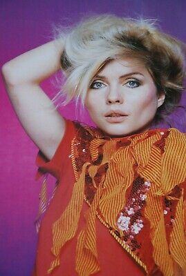 10 Debbie Harry Photos from TV times 1980/81 calendar 4 by 6in,3 from Smash hits