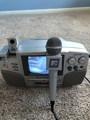 MTV The Singing Machine karaoke machine. Tested And Works.
