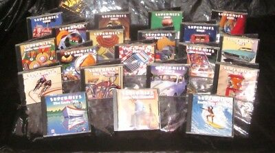 Very Nice 20 CD Set TIME LIFE Superhits COMPLETE Collection AM GOLD 60s 70s s