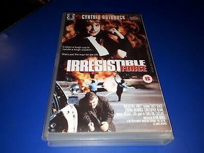 GHOST IN THE MACHINE / IRRESISTIBLE FORCE - Big Box Timecode VHS (FREE UK P&P)