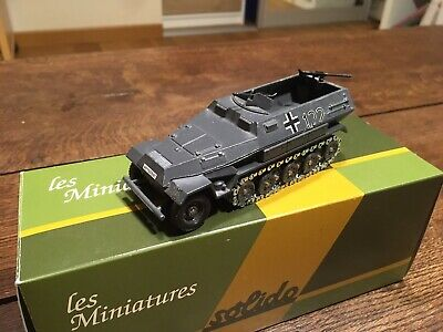 solido militaire Char Tank Panzer HK Hanomag Sd Kfz