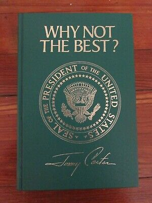 (Signed) Jimmy Carter, Why Not The Best?,  Free Shipping