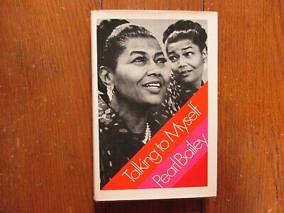 """PEARL BAILEY(Died-1990)Signed Book(""""TALKING TO MYSELF""""-1971 1st Edition Hardback"""