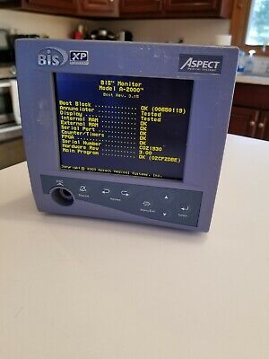 Used - Aspect Medical BIS XP Model A2000 Bispectral Index Patient Monitor