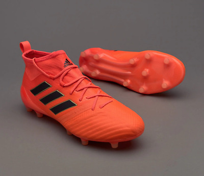 quality design 0f7c0 73508 Adidas Ace 17.1 Primeknit Firm Gnd Football Boots - Orange UK 9 (EU43.5