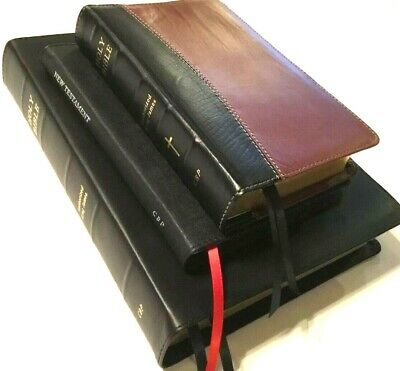 LCBP LOCAL CHURCH bible publishers top grain cowhide leather