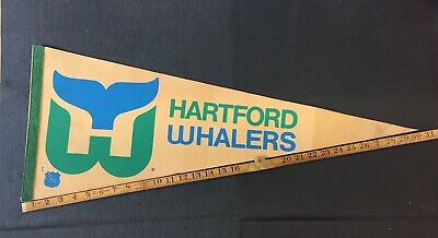 Hartford Whalers NHL Pennant Vintage 60's 70's 80's Combine Shipping