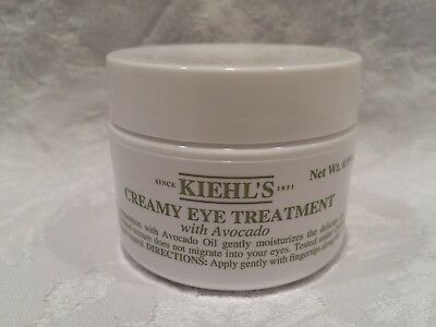 Kiehl's-Creamy Eye Treatment W/ Avocado - 0.5 Oz - No Sticker/Code