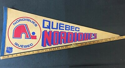 Quebec Nordiques NHL Pennant Vintage 60's 70's 80's Combine Shipping