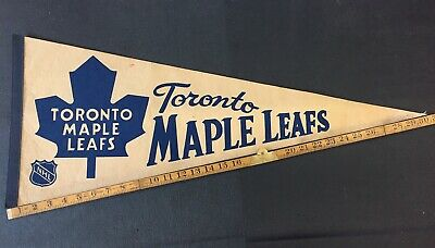 Toronto Maple Leafs NHL Pennant Vintage 60's 70's 80's Combine Shipping