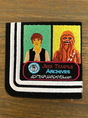 Star Wars Celebration 2017 Orlando JTA Collecting Track Double Racetrack Patch