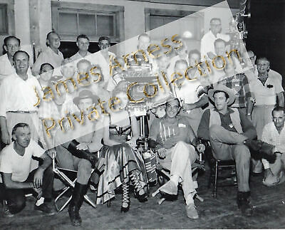 James Arness Gunsmoke Marshal Dillon Gunsmoke Film Crew Rare    8 x 10