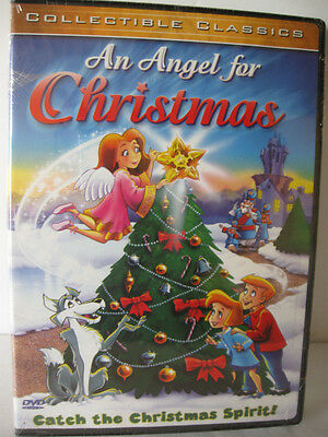 An Angel for Christmas (DVD, 2003) NEW MS-98