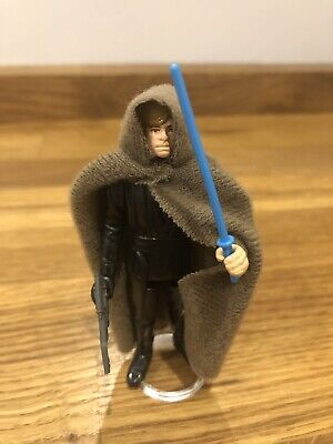 Vintage Star Wars Luke Skywalker Jedi Knight Blue Saber
