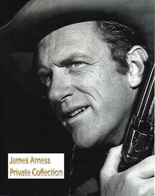 James Arness Gunsmoke Collection Gunsmoke Marshal Dillon Gun  8 x 10 Photo