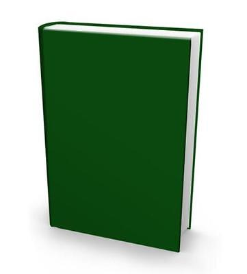 Evergreen Stretch Fabric Book Sox Cover Jumbo Size Solid Color