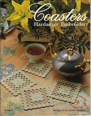 Coasters Hardanger Embroidery Book 9 Linda Driskell Needlecrafts Unlimited