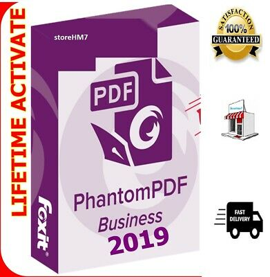 Foxit Phantom PDF Business 9.4.1🔐 2019 🔐 For 3PC - Portable 📩 Fast delivery