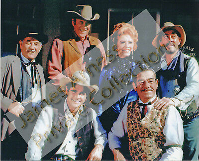 James Arness Private Collection Gunsmoke Cast 8 x 10 Color Photo #3