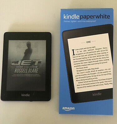 BARELY USED AMAZON Kindle Paperwhite (10th Generation) 8GB WiFi w/Special  Offers