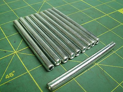 1/4 X 3 Slotted Spring Pins Zinc Plated (Qty 60) #56888