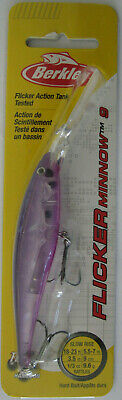 "Flashy Purple Candy - 3-1//2/"" Size 9-1//3 oz Berkley FLICKER MINNOW"