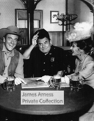 James Arness Private Collection Gunsmoke With Joe Ross Set Candid  8 x 10