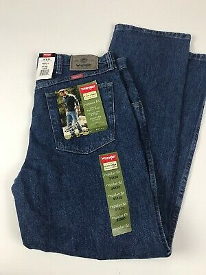 Wrangler 5 Star Mens Jeans 34X30 Regular Fit New With Tags