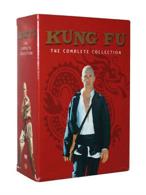 Kung Fu:The Complete Series Collection All 62 Episodes ( DVD, 2017, 16-Disc box)
