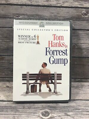 FORREST GUMP Special Collector's Edition 2-Disc DVD Set Tom Hanks Forest NEW