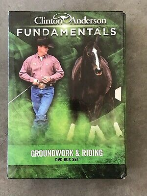 Clinton Anderson Fundamentals Training 14 DVD setMissing 1 Disc #2 Has Extra