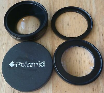 Polaroid Studio Series 52/58mm .43x HD Wide Angle Lens with macro attachment