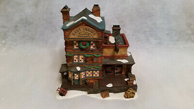 "Dept 56 Dickens Village Lighted Building 58302 ""East Indies Trading Co"" 1997"
