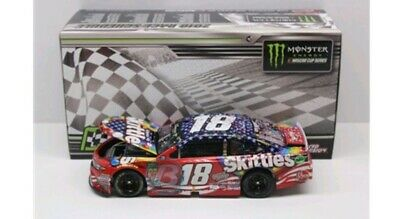 Kyle Busch 2018 Skittles Patriotic Chicagoland Race Win Diecast 1/24 In Stock
